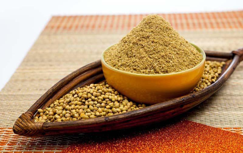 how to make coriander powder tea