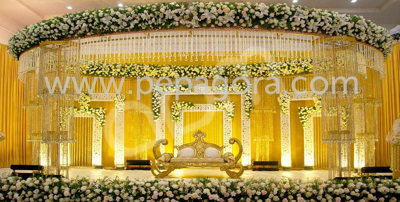 Crystal mandapam stage decorations suppliers wholesaler crystal mandapam stage decorations junglespirit Gallery